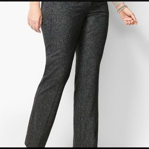 WIDE-LEG WINDSOR DONEGAL PANTS